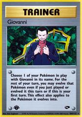 Giovanni - 104/132 - Rare - 1st Edition