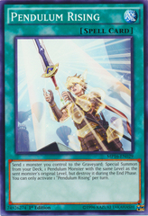 Pendulum Rising - MP16-EN029 - Common - 1st Edition