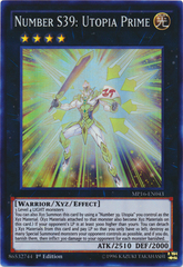 Number S39: Utopia Prime - MP16-EN043 - Super Rare - 1st Edition