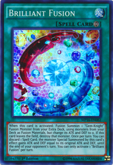 Brilliant Fusion - MP16-EN082 - Super Rare - 1st Edition