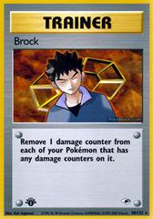 Brock - 98/132 - Rare - 1st Edition