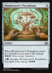 Woodweaver's Puzzleknot on Channel Fireball