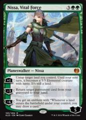 Nissa, Vital Force - Foil (KLD)