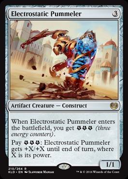 Electrostatic Pummeler - Foil