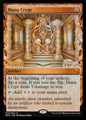 Mana Crypt (Masterpiece Foil) on Channel Fireball