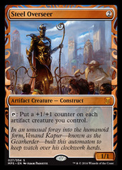 Steel Overseer (Masterpiece Foil) on Channel Fireball