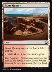 Stone Quarry - Planeswalker Deck Exclusive