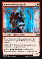 Aethertorch Renegade - Foil on Channel Fireball