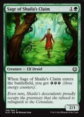 Sage of Shaila's Claim - Foil