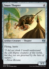 Snare Thopter on Channel Fireball