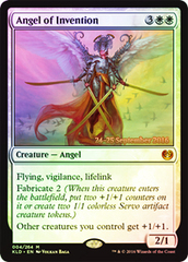 Angel of Invention (Kaladesh Prerelease Foil) on Channel Fireball