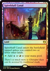 Spirebluff Canal - Foil - Prerelease Promo