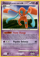 Deoxys Defense Forme - 25/146 - Rare