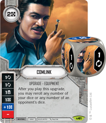 Comlink (Sold with matching Die)