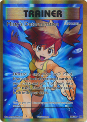 Misty's Determination - 108/108 - Full Art Ultra Rare