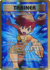 Misty's Determination - 108/108 - Full Art Ultra Rare
