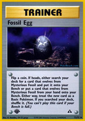 Fossil Egg - 72/75 - Uncommon - 1st Edition