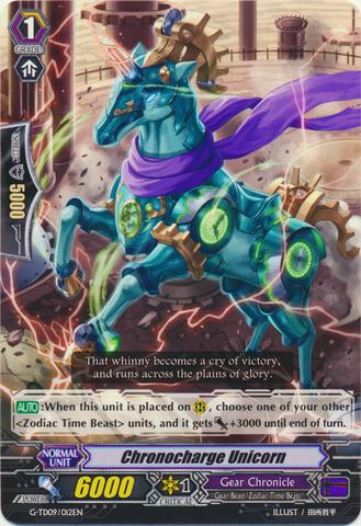 Chronocharge Unicorn - G-TD09/012EN - TD
