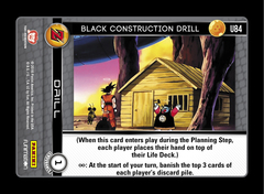 Black Construction Drill - U84