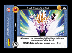 Blue Release Drill - U86 - Foil