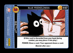 Blue Friendliness - R107 - Foil