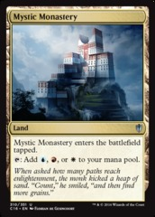 Mystic Monastery on Channel Fireball
