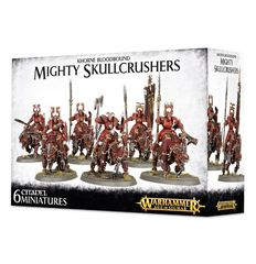 Khorne Bloodbound Mighty Skullcrushers (6)