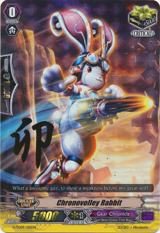 Chronovolley Rabbit - G-TD09/015EN - RRR