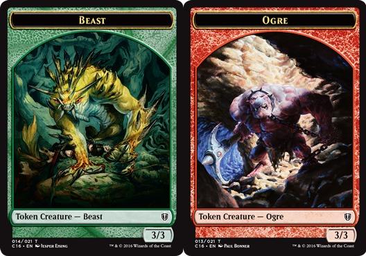 Beast Token // Ogre Token