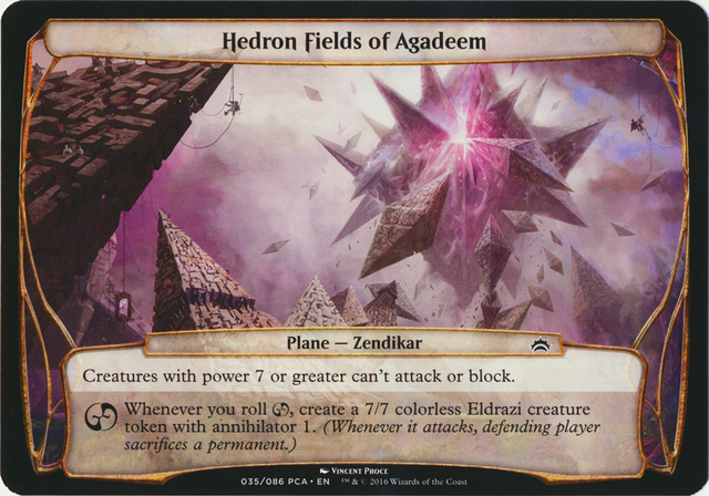 Hedron Fields of Agadeem - Oversized