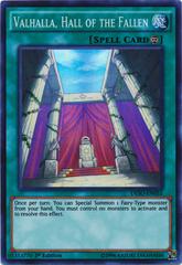 Valhalla, Hall of the Fallen - DESO-EN055 - Super Rare - 1st Edition