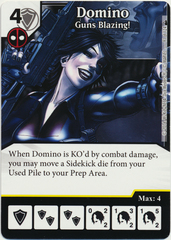 Domino - Guns Blazing! (Die & Card Combo)
