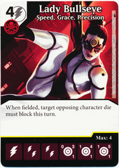 Lady Bullseye - Speed, Grace, Precision (Card Only)