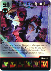 Lady Deadpool - Earth-3010 (Foil) (Die & Card Combo)