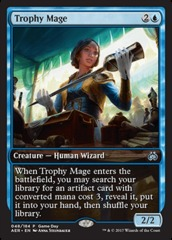 Trophy Mage (Aether Revolt Game Day) on Channel Fireball