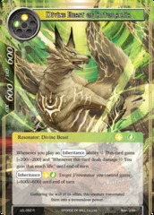 Divine Beast of Attoractia - LEL-052 - R - Foil