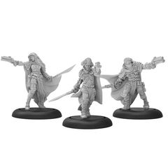 Warmachine: Mercenaries - Thorn Gun Mages Llaelese Unit