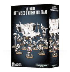 Warhammer 40K: Tau Empire Optimised Pathfinder Team