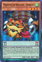 Majespecter Raccoon - Bunbuku - MP16-EN126 - Ultra Rare - Unlimited Edition