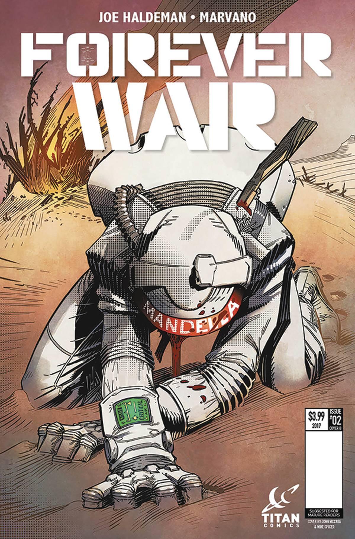 Forever War #2 (Of 6) Cvr B Mccrea