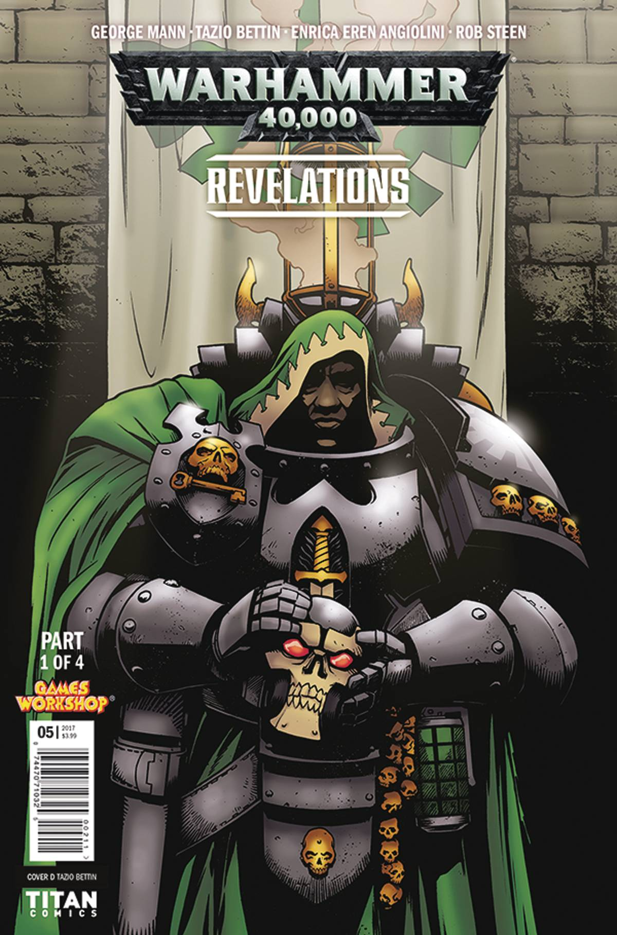 Warhammer 40000 Revelations #1 (Of 4) Cvr D Bettin