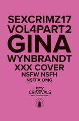 Sex Criminals #17 Xxx Gina Wynbrandt Var (Mr)