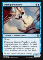 Skyship Plunderer - Foil on Channel Fireball
