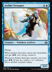 Aether Swooper - Foil on Channel Fireball