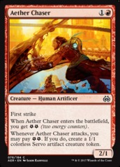 Aether Chaser on Channel Fireball