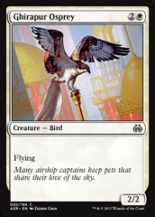 Ghirapur Osprey - Foil on Channel Fireball