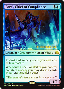 Baral, Chief of Compliance (Aether Revolt Prerelease Foil)