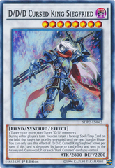 D/D/D Cursed King Siegfried - SDPD-EN042 - Super Rare - 1st Edition on Channel Fireball