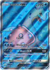 Lapras-GX - 139/149 - Full Art Ultra Rare