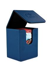 Ultimate Guard - Flip Deck Case 100+ Leatherette Standard Size Dark Blue